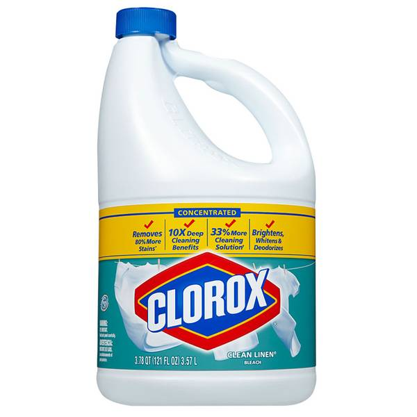 Concentrated Bleach, Clean Linen Scent, 121 Fluid Ounces