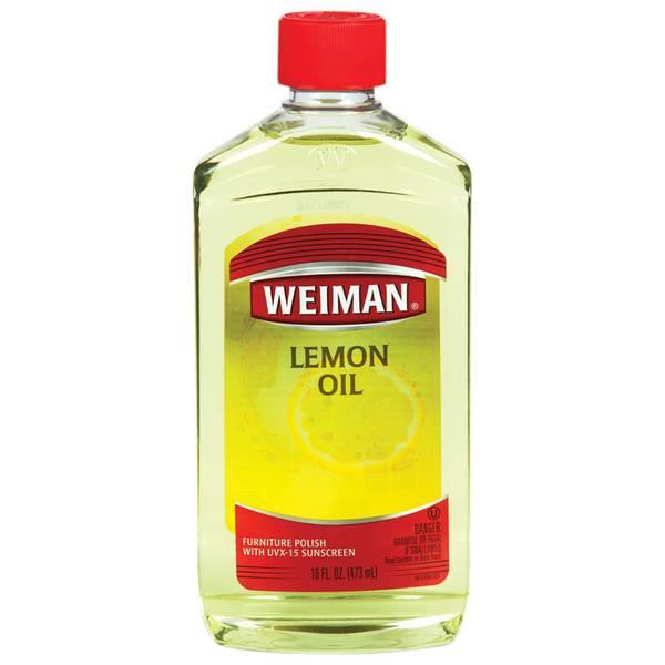 Lemon Oil with Sunscreen