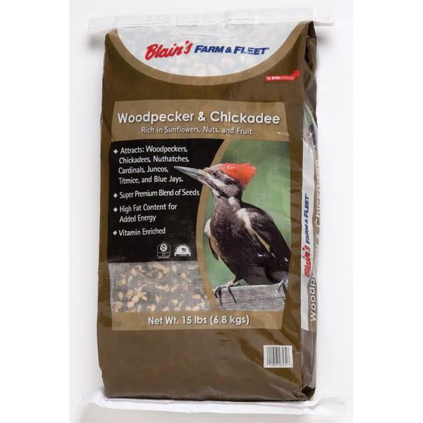 Woodpecker and Chickadee Bird Seed