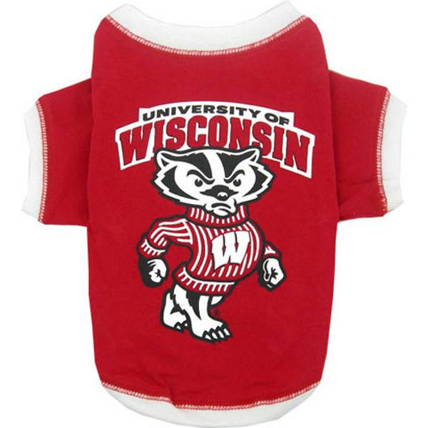 Pets first university of wisconsin dog t shirt for University of wisconsin t shirts