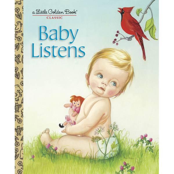 Baby Listens Children's Book