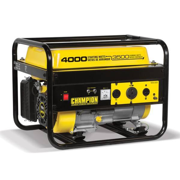 3500-Watt RV Ready Portable Gas Generator (EPA)