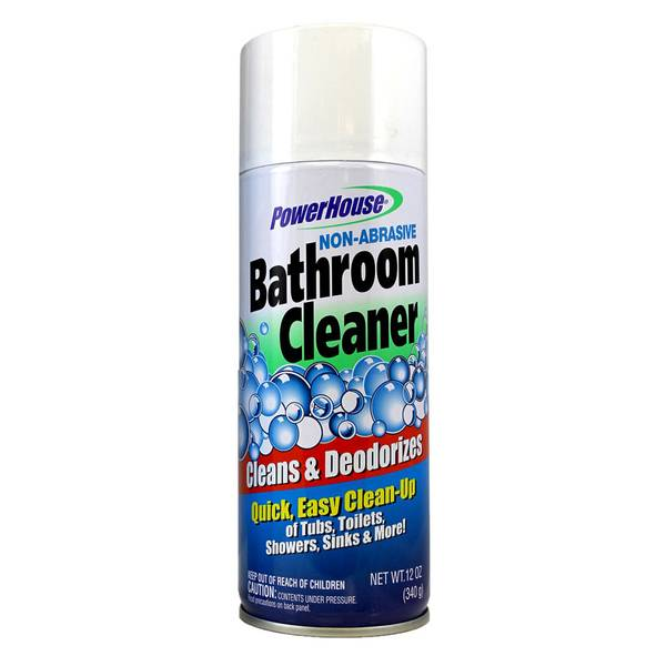 Non - Abrasive Bathroom Cleaner Aerosol