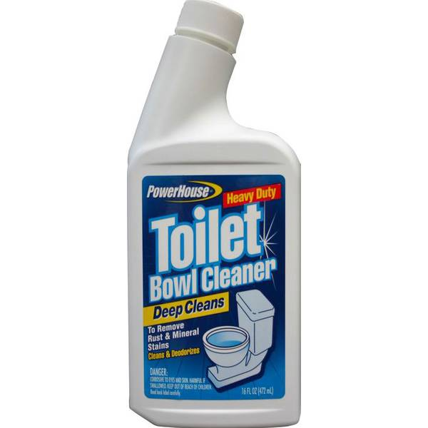 Powerhouse Manual Toilet Bowl Cleaner With Gooseneck