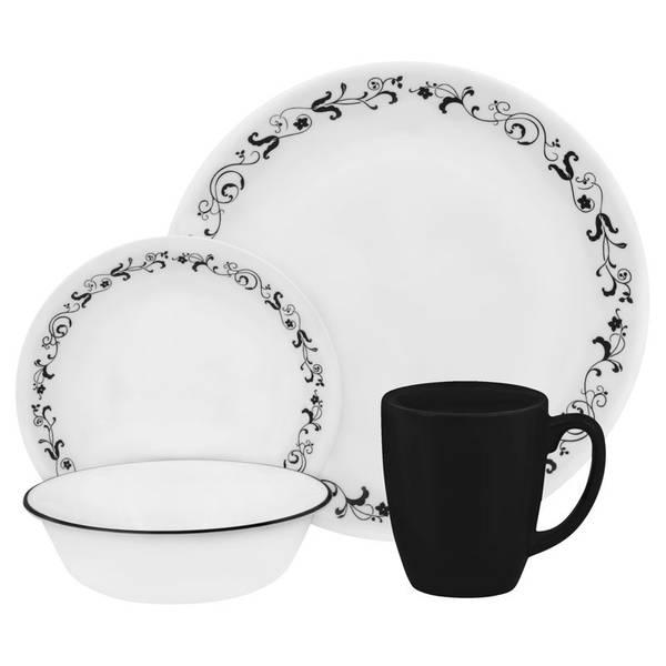 Garden Getaway Round Dinnerware Set