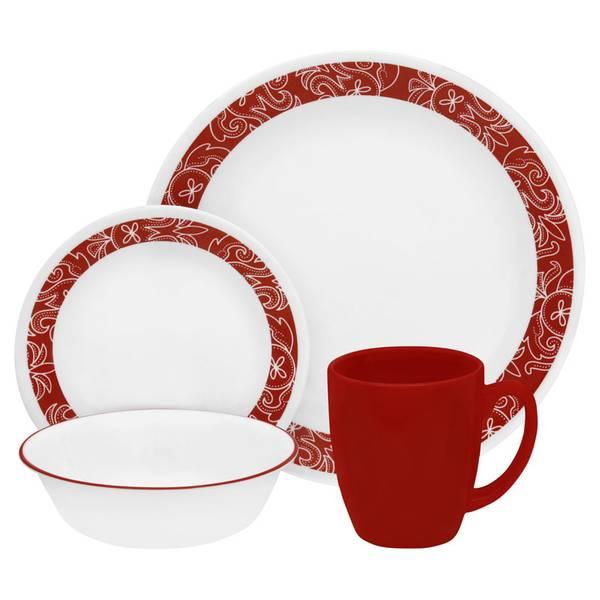 Bandhani Round Dinnerware Set