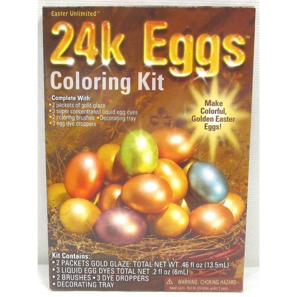 Blain\'s Farm & Fleet 24K Egg Decorating Kit