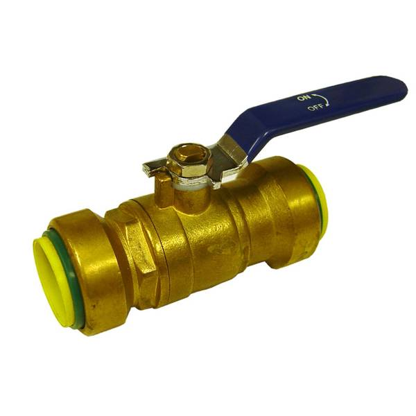 Lead Free Brass Ball Valve Push Fitting