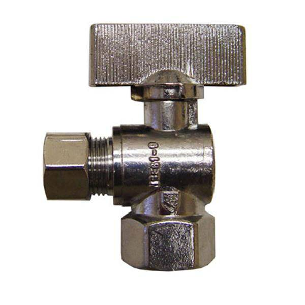 Lead Free 1/4 Turn Angled Sink and Closet Supply Valve