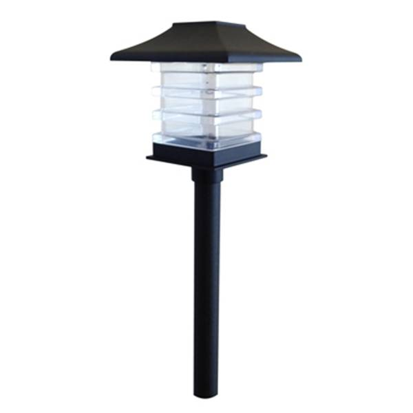 Trenton Black Plastic Path Light