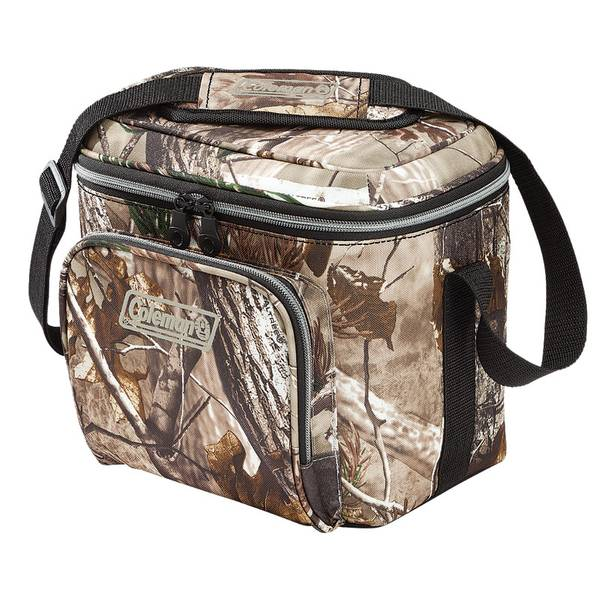 Camo Soft Cooler ~ Coleman soft sided realtree all purpose camouflage cooler