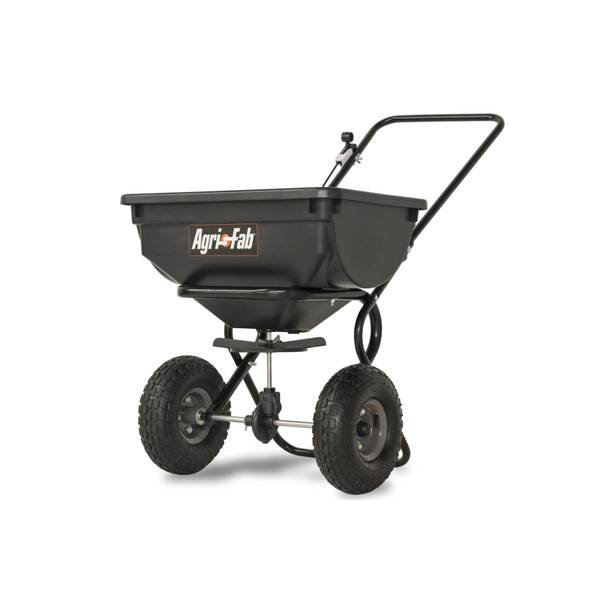 85 lb Capacity Push Broadcast Spreader