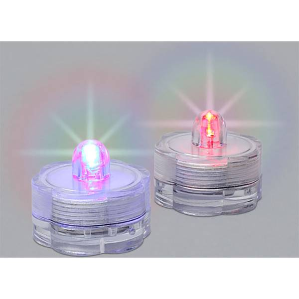 Everlasting Glow Submersible Water Led Tea Lights 2 Pack
