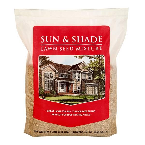 Sun & Shade Mix Grass Seed