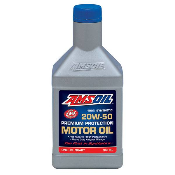 amsoil amsoil 20w 50 synthetic motor oil