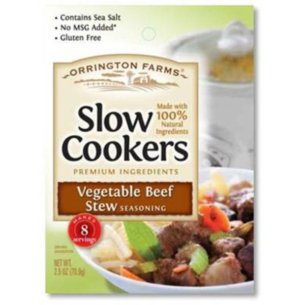 Vegetable Beef Stew Seasoning