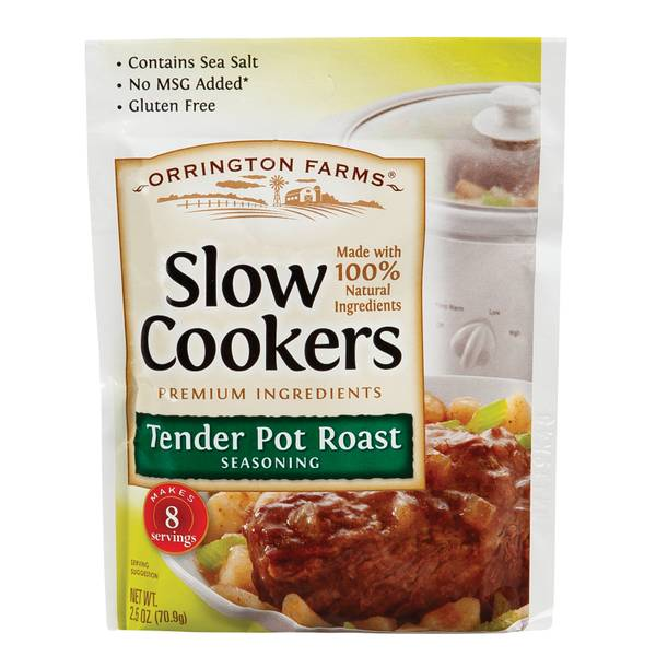 Tender Pot Roast Seasoning