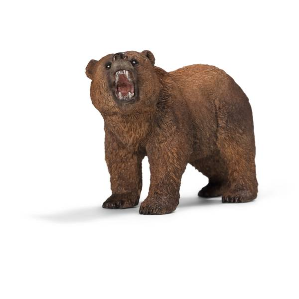 Grizzly Bear Figurine