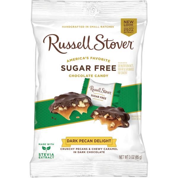 Sugar Free Dark Chocolate Pecan Delights