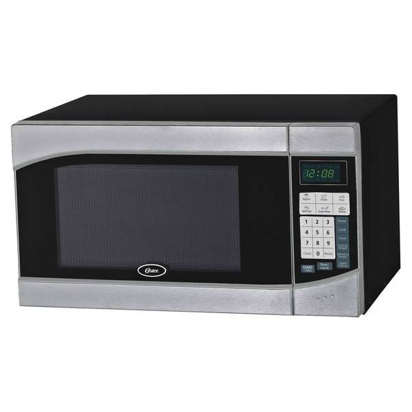 LED Stainless Steel Microwave Oven