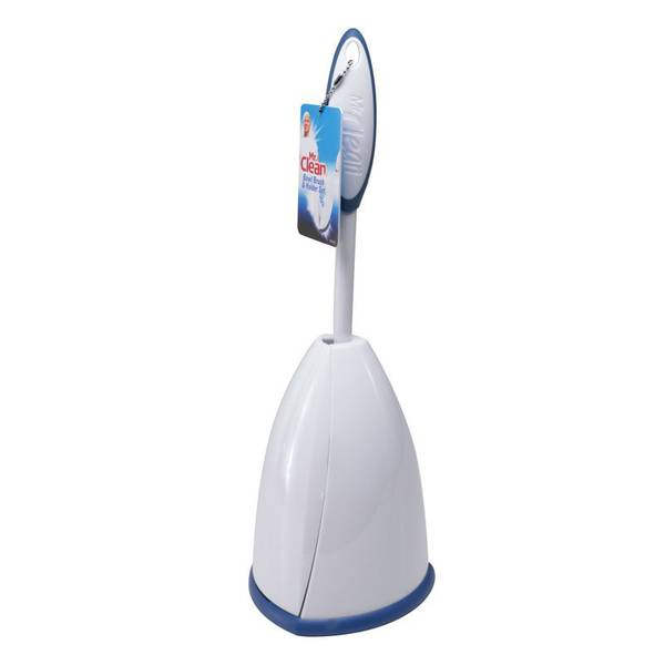 Toilet Bowl Brush & Enclosed Caddy