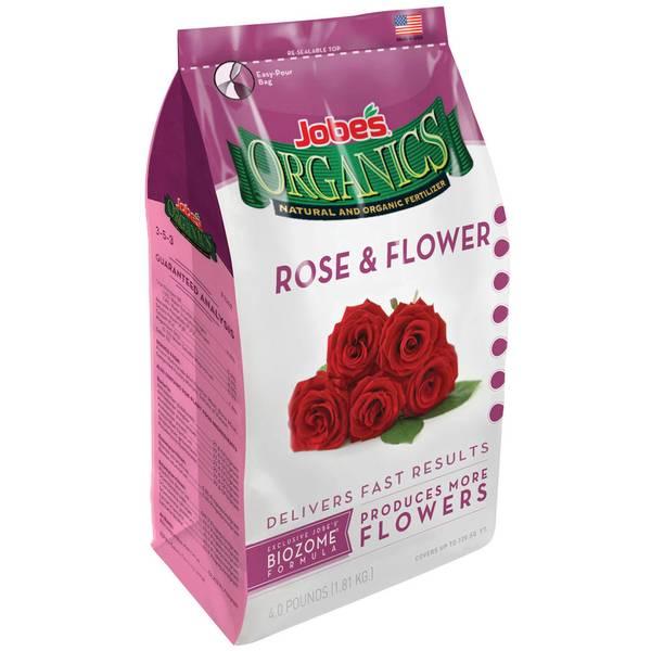 Organics Rose & Flower Granular Fertilizer