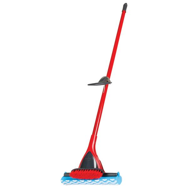 Triple Action Power Scrub Roller Mop