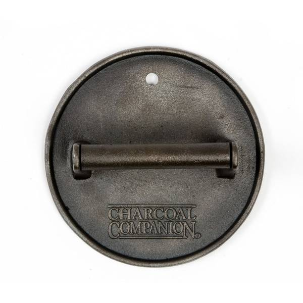 Cast Iron Round Grill Press