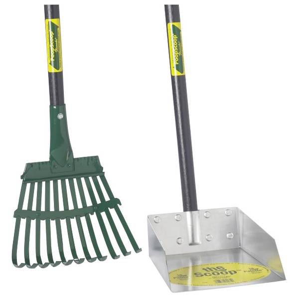 Small Scoop & Steel Rake Set
