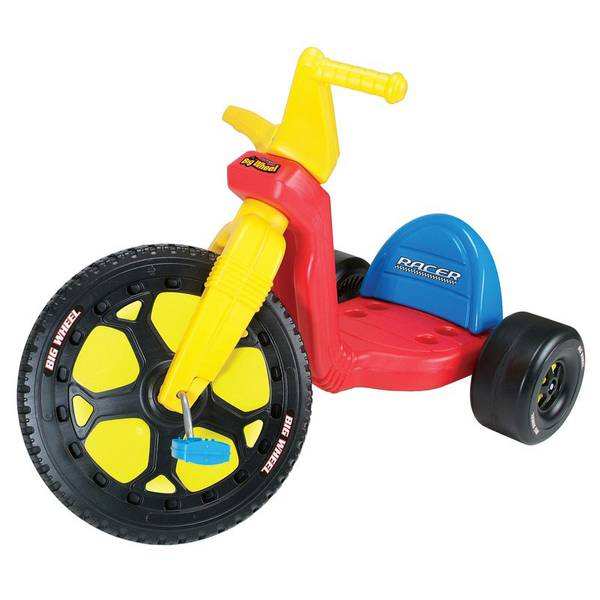 Big Wheel Toys For Toddlers : Kids only boys big wheel racer tricycle
