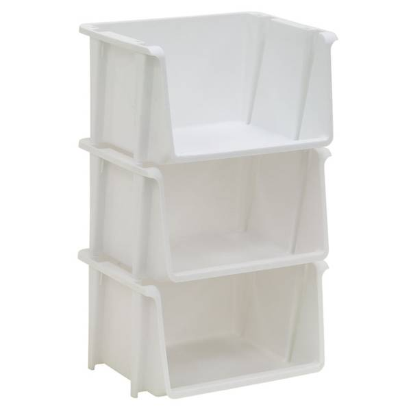 Mini Stackable Storage Bins