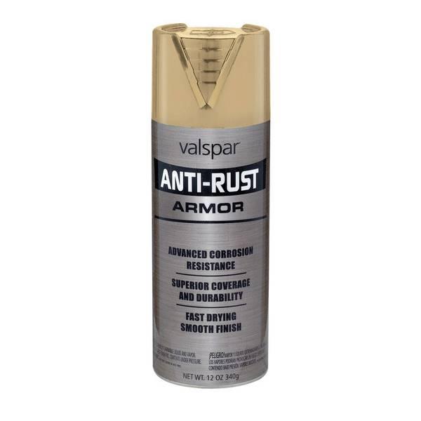 Valspar Aerosol Anti Rust Oil Based Enamel