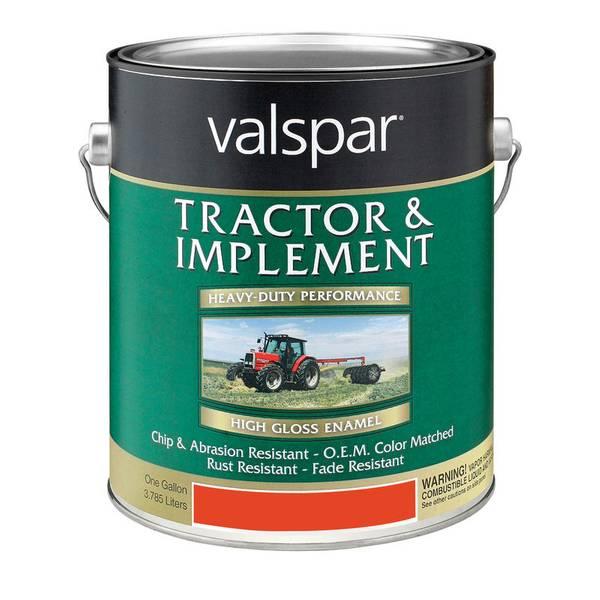 Valspar 1 Gallon Tractor Amp Implement Paint