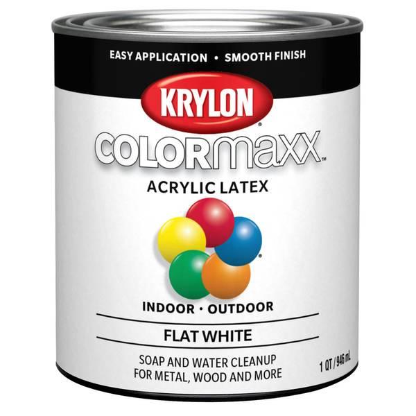 Premium Enamel Latex Flat White Paint