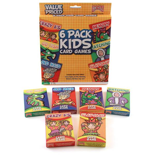 Classic Kid's Card Games Assortment