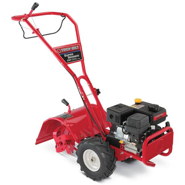 Super Bronco Counter Rotating Rear Tine Garden Rototiller