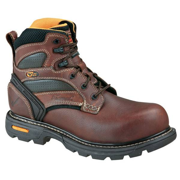 "Men's Brown 6"" Gen-Flex Composite Toe Work Boots"