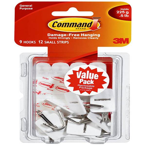 Small Wire Hooks Value Pack