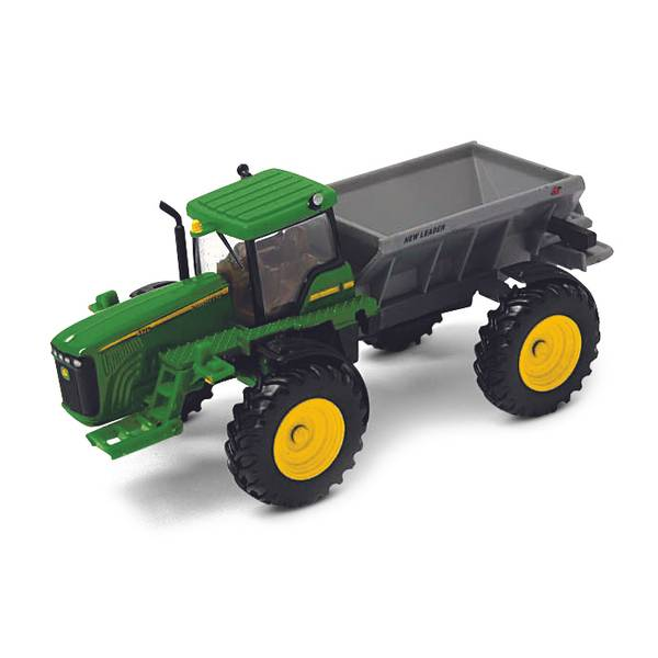 John Deere Spreaders Lawn Tractor : Ertl john deere dry box spreader