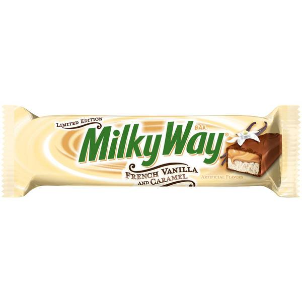 French Vanilla and Caramel Candy Bar