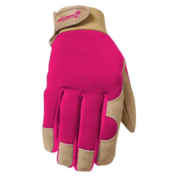 Ladies Comfort Suede Leather Glove