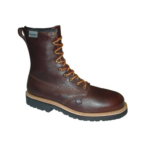 """Men's  8"""" Waterproof Thinsulate Work Boots - Made in USA"""