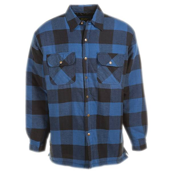 Men's Stay Dry Quilt Lined Flannel Shirt