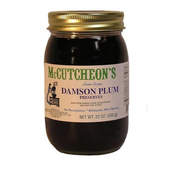 Damson Plum Preserves