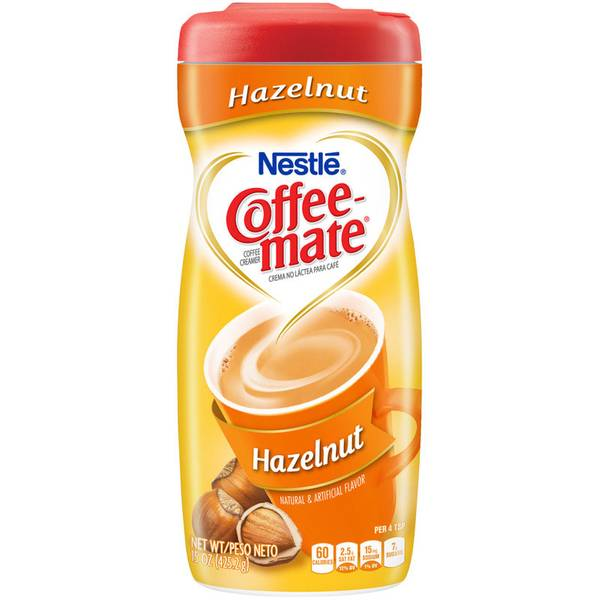 15 oz Coffee-mate Hazelnut Coffee Creamer