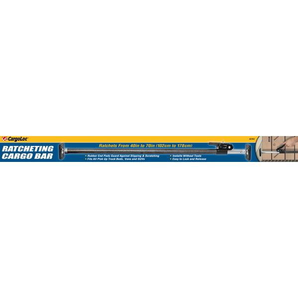 Ratcheting Cargo Bar