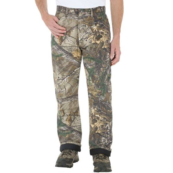 c55652ab Men's Realtree AP Xtra Camouflage Thermal Lined Jeans. Wrangler ProGear ...