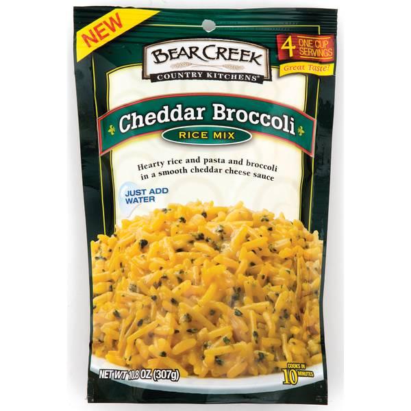Cheddar Broccoli Rice Mix