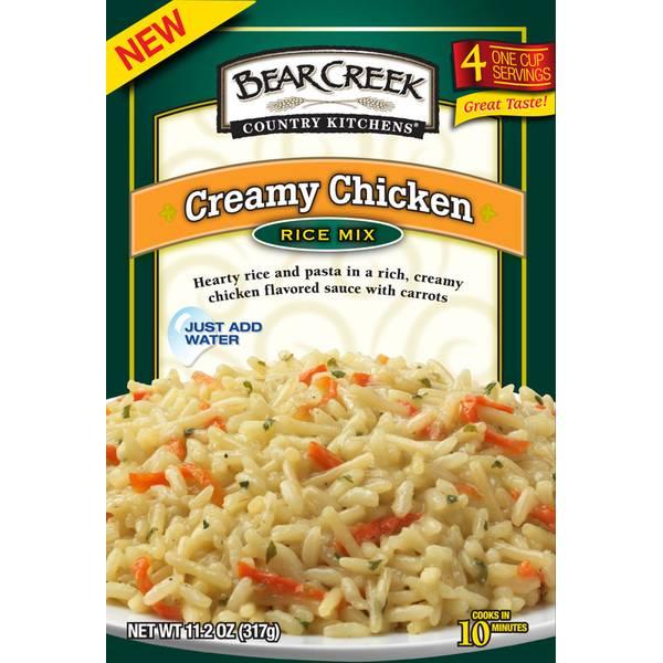 Creamy Chicken Rice Mix
