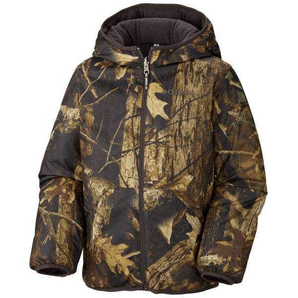 Boy's Timberwolf Camo Dual Front Reversible Insulated Jacket